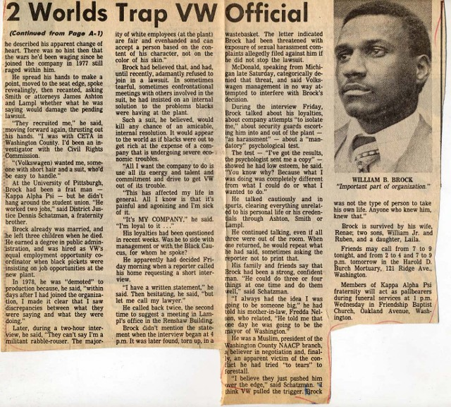 2 Worlds Trap VW Official Newspaper Clipping