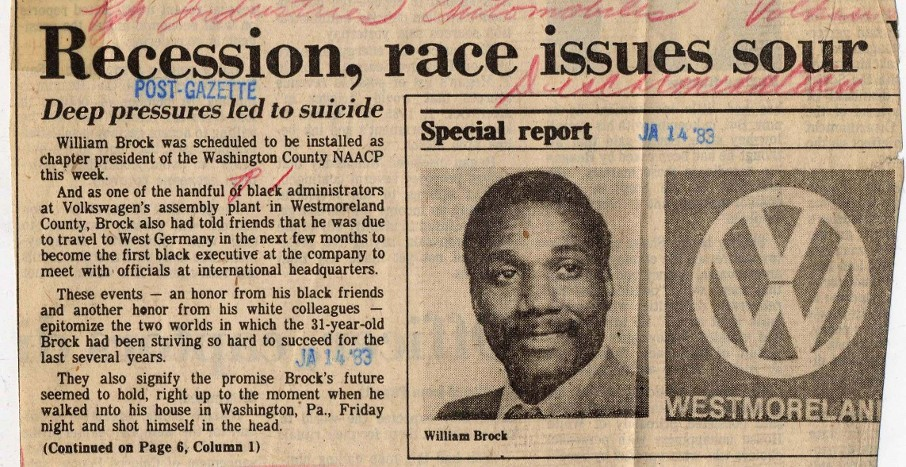 Recession, Race Issues Sour Newspaper Clipping